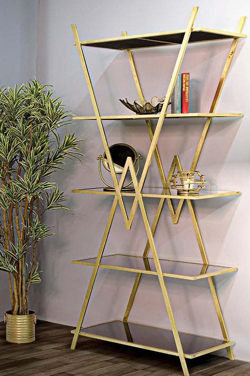 Libreria piramid oro e nera