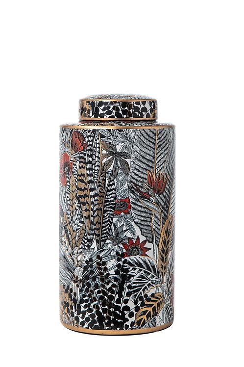 Vaso ceramica decorato