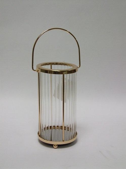 Lanterna specchio oro e plexi