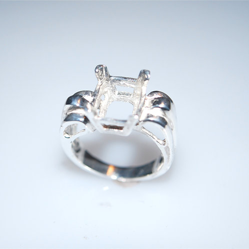 LREC123   10x8 EC custom fluted ring