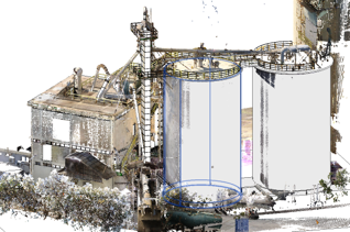 Industrial As-Built Modelling with Laser Scanning and Scan-to-BIM