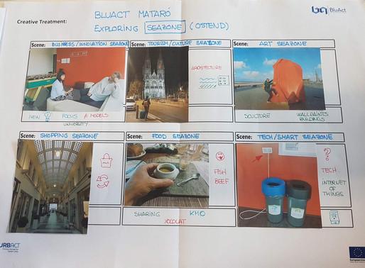 Transfer Diary: BluAct Mataró Team Exploring Ostend SeaZone