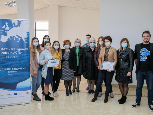 Bluact competition in Galați makes further steps