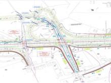 Hydraulic works design of the motorway Aktio - Amvrakia, Greece
