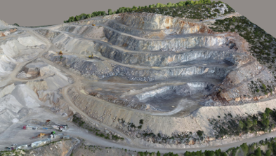 Mining Monitoring Drone Surveying