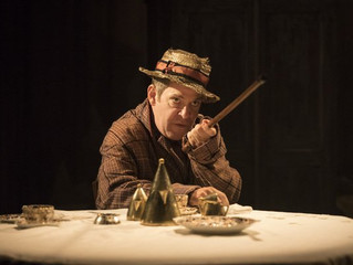 'What did you do during the war, Dada?' 'Travesties' by Tom Stoppard, Menier Chocola