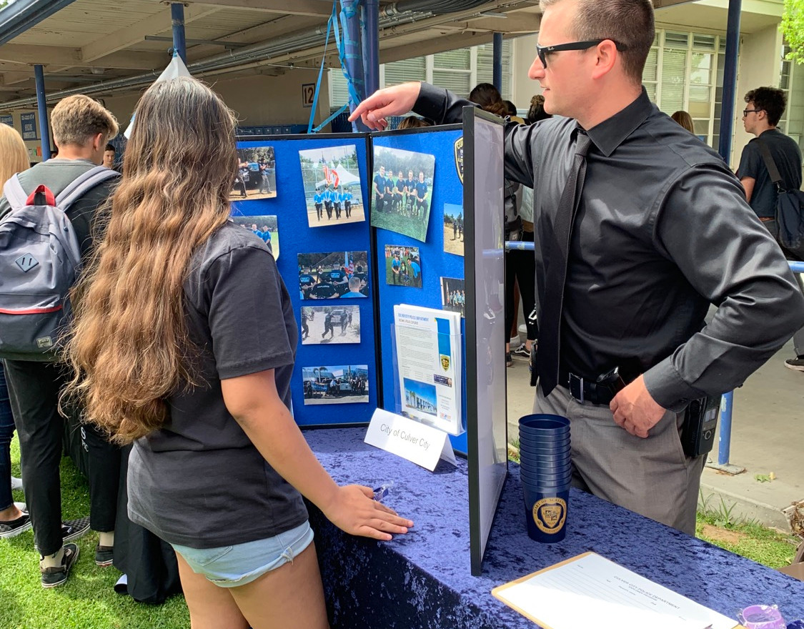 CCPD booth