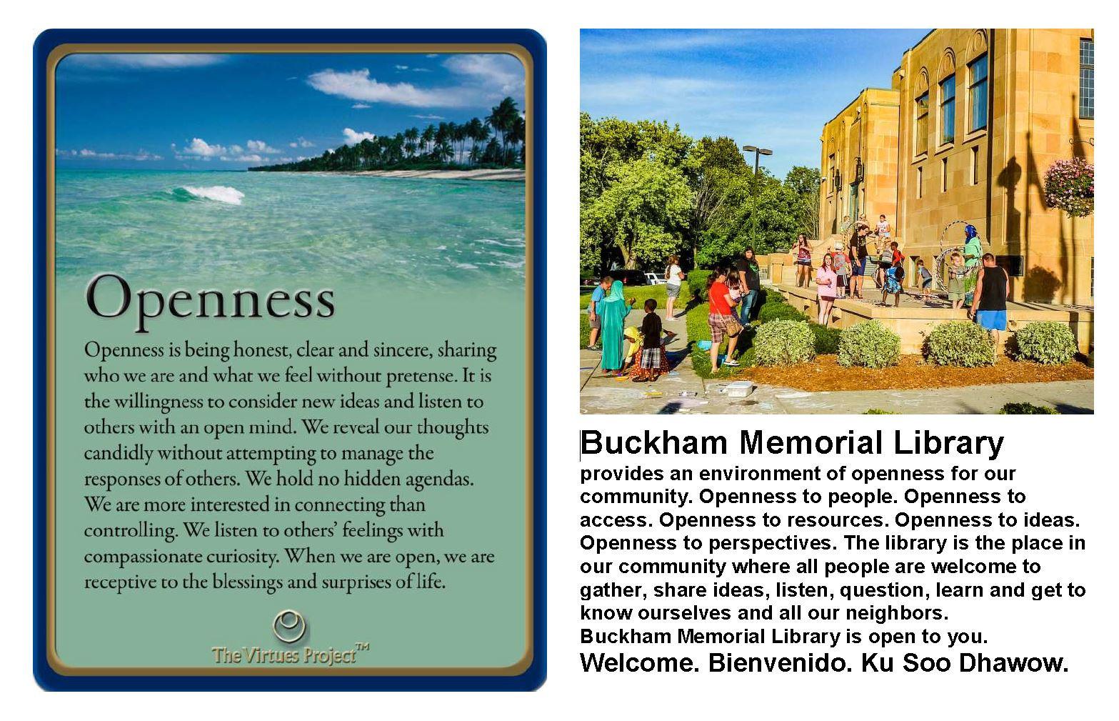 Buckham Library Openness.JPG