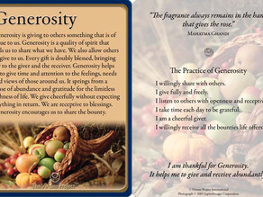 The Virtues Project needs your generosity!