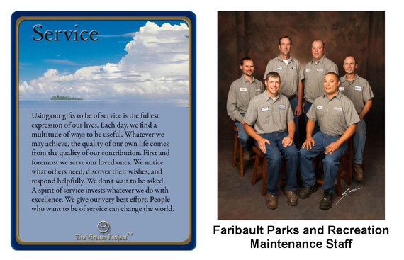 Faribault Parks and Recreation Service.J