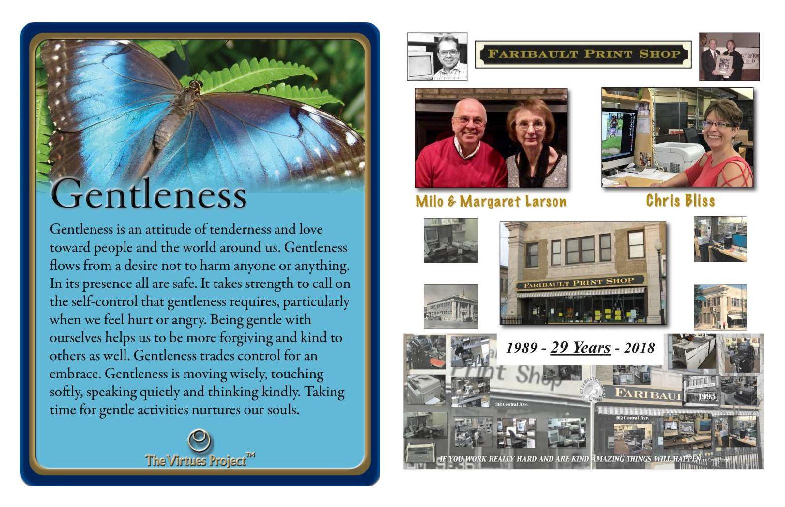 Faribautlt Print Shop Gentleness.JPG