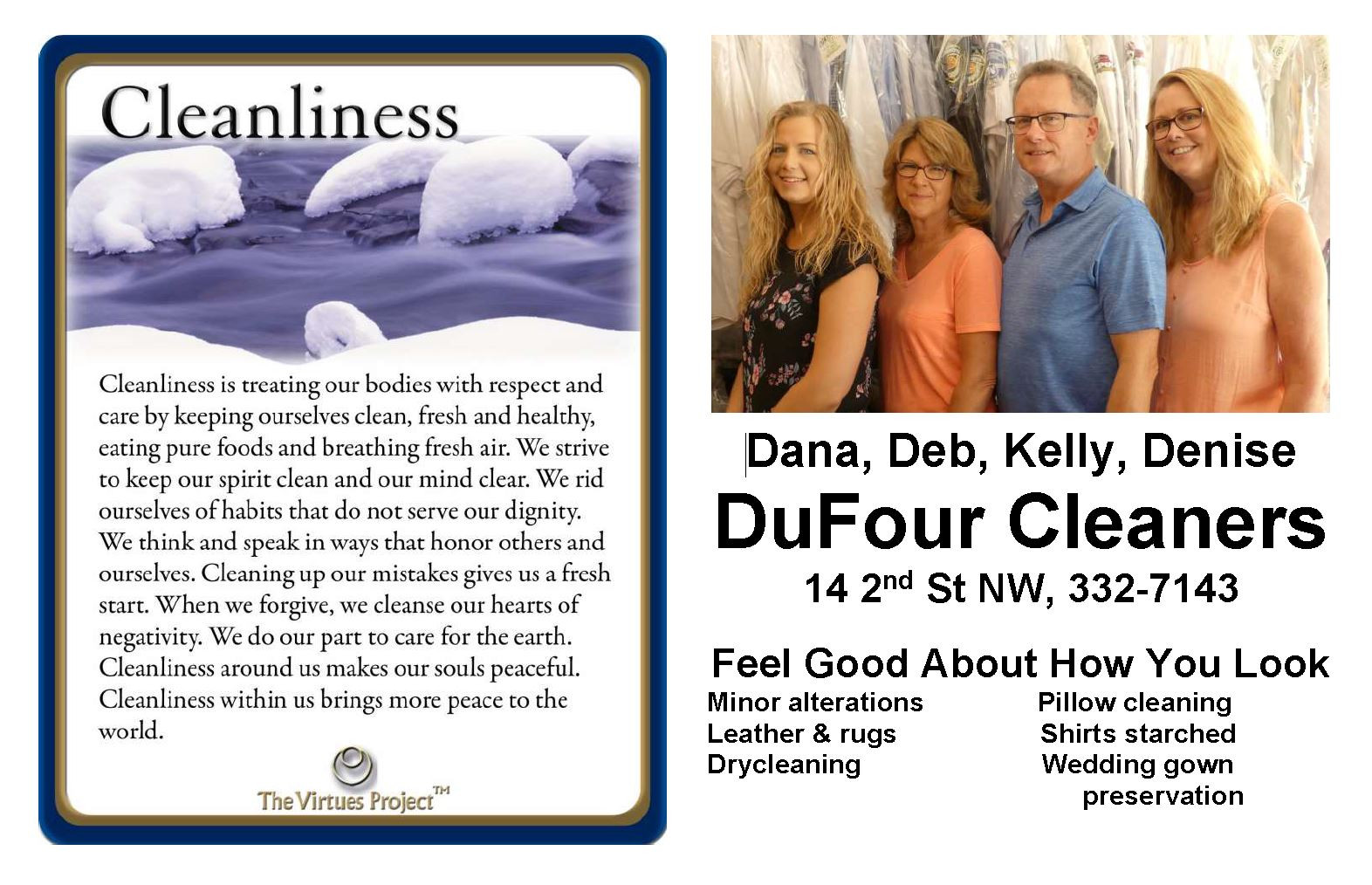 Dufour Cleaners Cleanliness.JPG