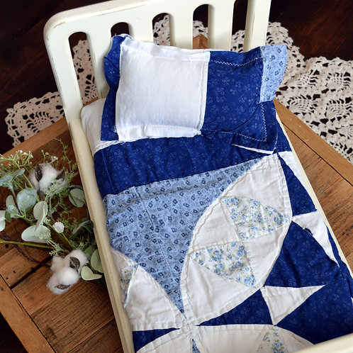 Navy Burst Quilt Bundle