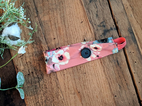 Pink Floral EarSaver Band