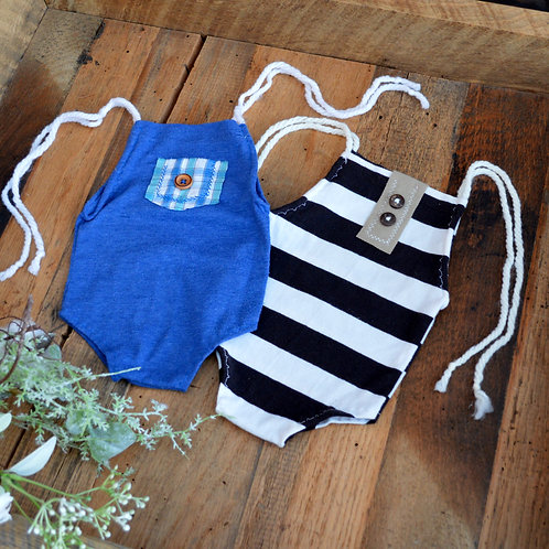 Button Onesie | newborn