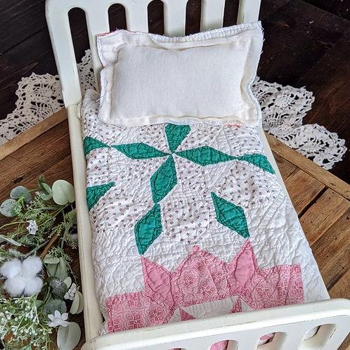 Colorful Pinwheel Patchwork Quilt Set