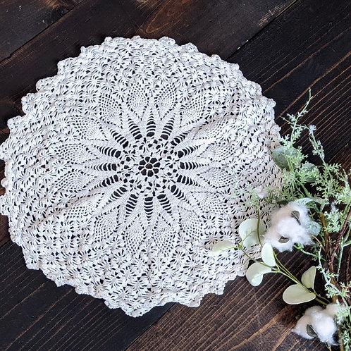 Intricate Pinwheel  Vintage Lace