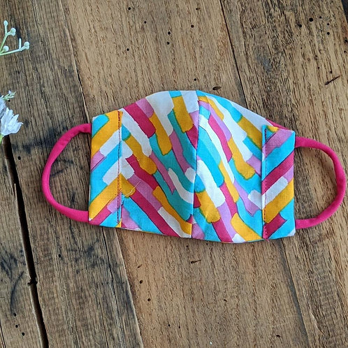 Confetti Fitted Re-Usable Cloth FaceMask | child