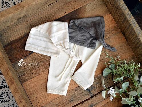 Neutral Pant & Cap Bundle | newborn