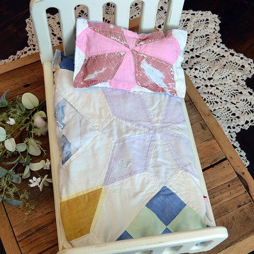 Colorful Pinwheel Tattered Quilt Set