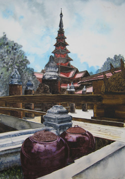 Monastère birman