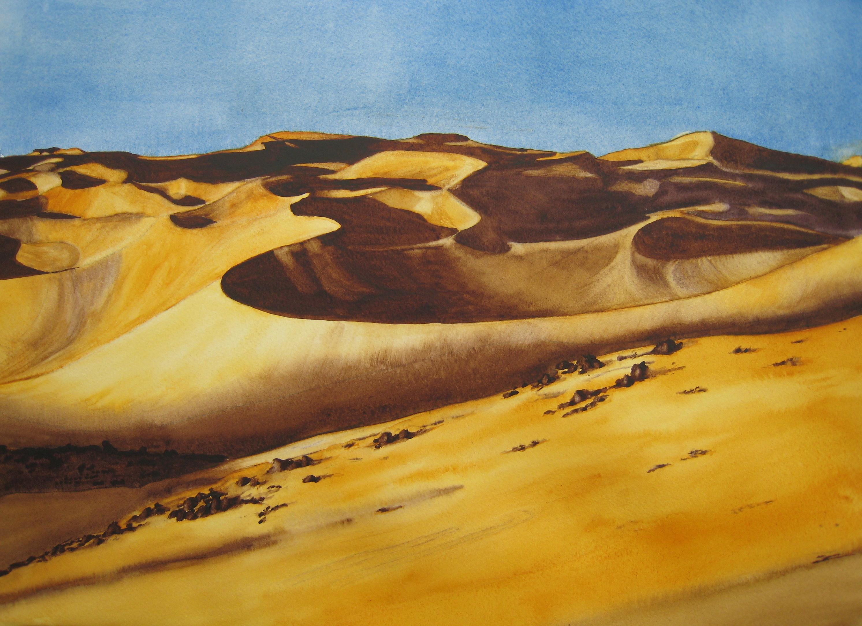 Le désert d'Abalan  (photo A Denis)