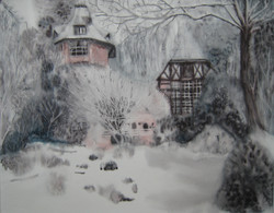 Maulévrier sous la neige