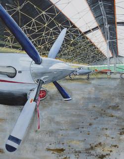 Garage d'avions