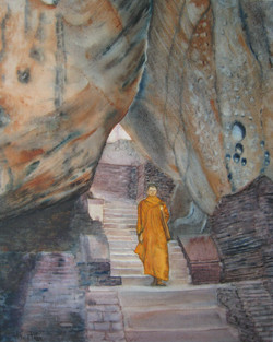 Le moine boudhiste