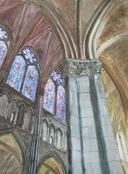 Reims - Cathédrale martyr