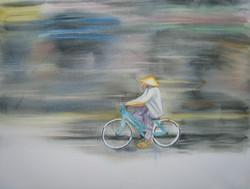 A bicyclette à Hà Nôï