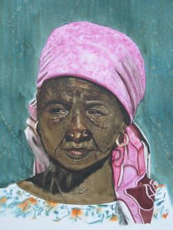 Femme Peulh (photo A. Denis)