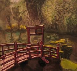 Pont chinois à Maulévrier