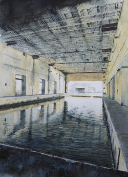 Garage de sous-marin