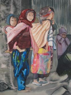 Jeunes marocaines à Imilchil