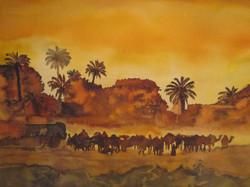 L'oasis marocain