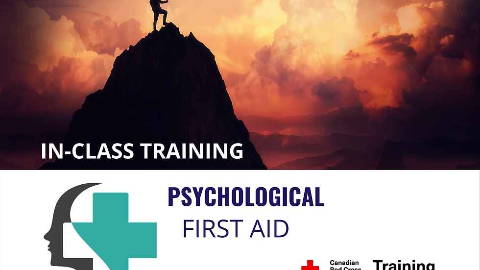 Psychological First Aid Certification