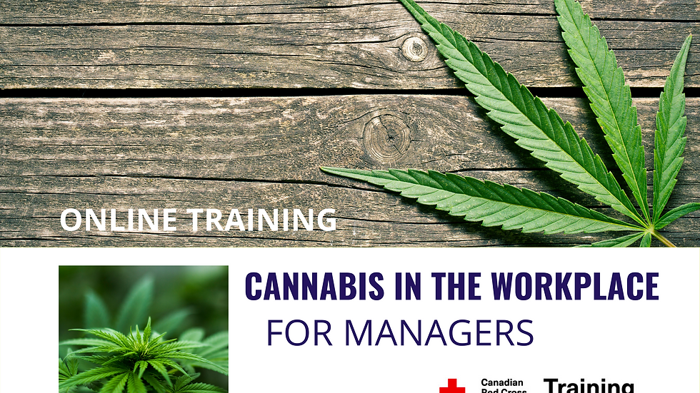 Cannabis In The Workplace: For Managers