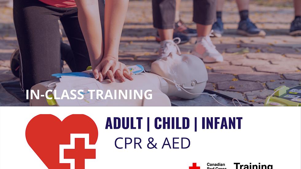 CPR Level 'C' Certification Course Dates & Registration