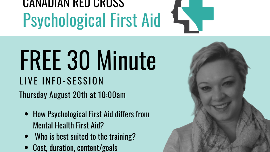 Free Info. Session: Psychological First Aid