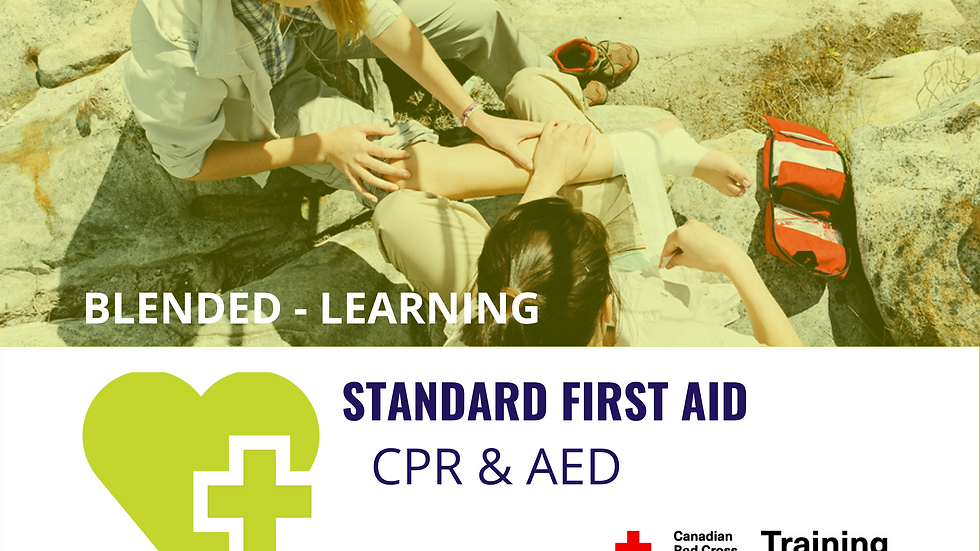 Standard First Aid & Level 'C' CPR Certification Course Dates