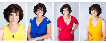 Branding Headshots corporate portraits of a businesswoman smiling, happy and confident.
