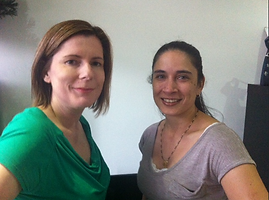 Photo of Emma and Priya before their Branding Headshots makeover.