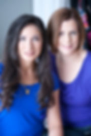 Branding Headshots corporate portraits of Emma and Priya looking professional and stylish.