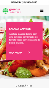 Ver todos os templates website templates – Delivery de comida
