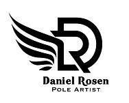 Daneil Rosen Logo Vertical all black-01-