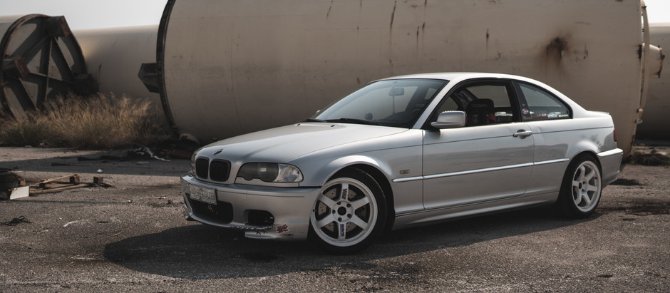 Proper practice car: BMW E46 M54B30 powered