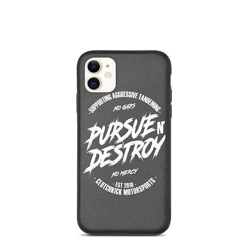 Pursue N Destroy Biodegradable iPhone case