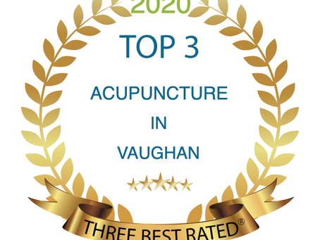 We are one of the Top 3 Acupuncture in Vaughan, ON in 2020