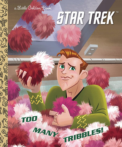 STAR TREK TOO MANY TRIBBLES LITTLE GOLDEN BOOK (C: 0-1-0)